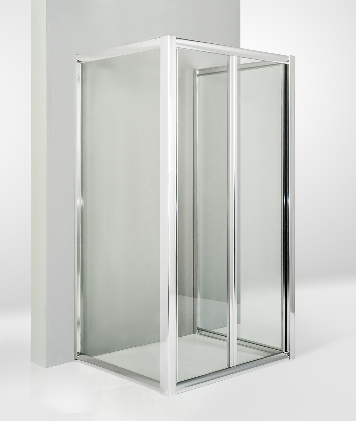 Faszinierend Badmöbel Porta Galerie Von Box Doccia 3 Lati Con 2 Ante