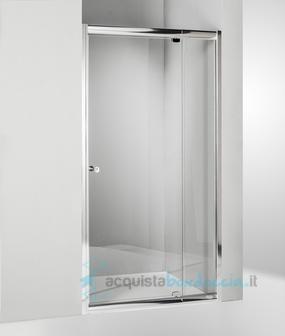Porta doccia battente 90 cm trasparente - Montaggio porta battente ...