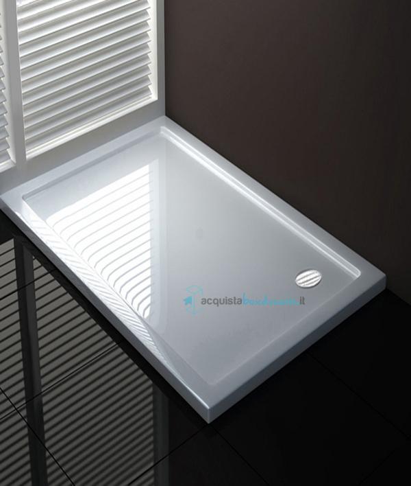 Vendita piatto doccia 60x110 cm altezza 4 cm - Piatto doccia piccole dimensioni ...