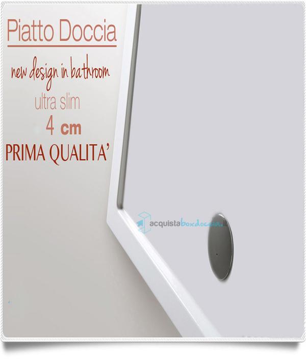 Vendita Piatto Doccia 65x100 Cm Altezza 4 Cm Acquistaboxdoccia It