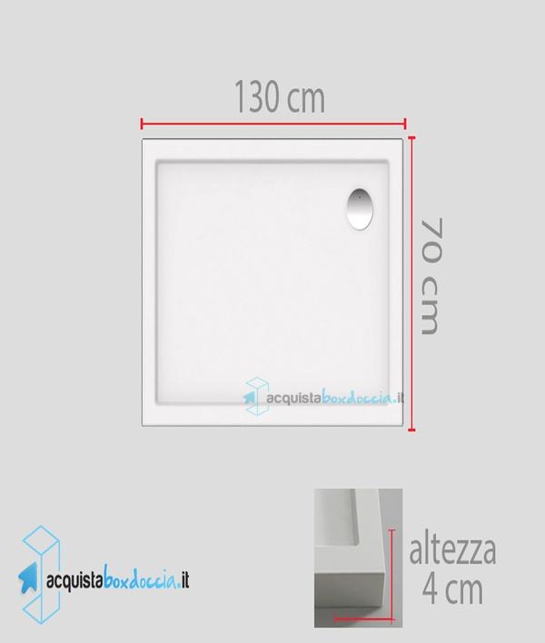 Vasca Da Bagno 130 X 70.Vasca Da Bagno 130x70 Cool Ideal Standard Connect T Piatto Doccia