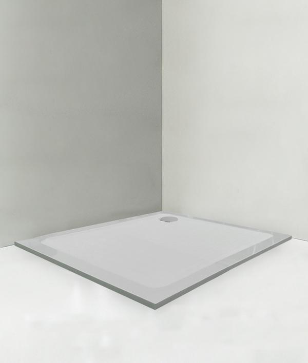 Piatto doccia 100x100 cm altezza 3 cm