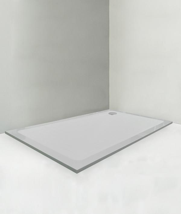 Piatto doccia 100x160 cm altezza 2 cm