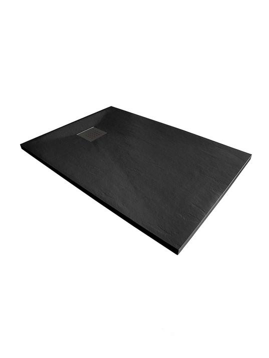 Piatto doccia 75x180 cm altezza 3 cm in resina ultrasottile senza bordo Coloreeee n