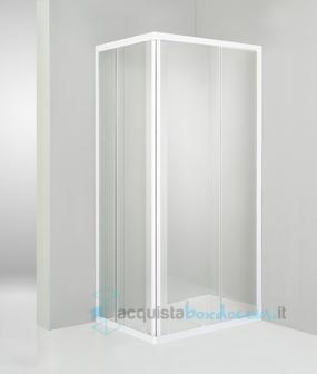Vendita box doccia angolare scorrevole 70x85 cm - Piatto doccia 70x85 ...