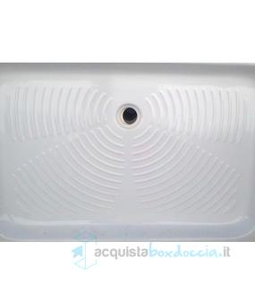 Piatto Doccia Ceramica 70x90.Vendita Piatto Doccia 70x90 Cm Altezza 11 Cm In Ceramica