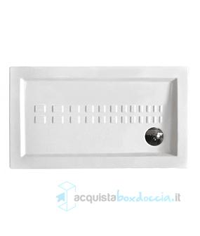 Piatto Doccia Ceramica 80x100.Piatto Doccia 80x100 Cm In Ceramica Altezza 5 5 Cm