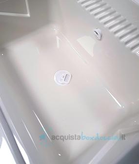 Vendita mobile bagno/lavanderia lavatoio con lavello in resina ...