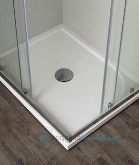 Vendita box doccia angolare porta scorrevole 60x80 cm opaco ...