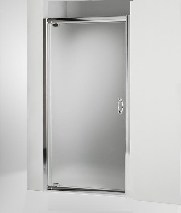 Porta doccia battente 95 cm opaco