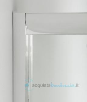 Box Doccia Altezza 180.Box Doccia Angolare Porta Scorrevole 70x90 Cm Trasparente Altezza 180 Cm