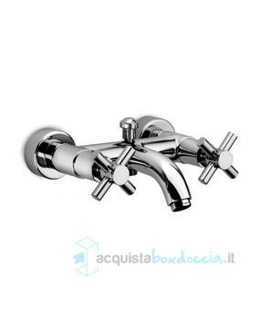 Gruppo Vasca Con Doccia.Gruppo Vasca Con Doccia E Flessibile A Doppio Uso Serie Cilindradue Gs