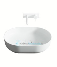 lavabo d'appoggio in luxolid 60x42 cm - horizon medium