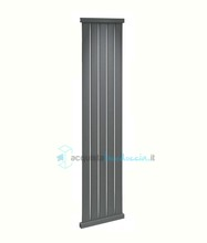 termoarredo in acciaio 1800x410 mm antracite interasse 410 mm modello ritz - linea design