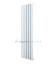 termoarredo in alluminio 1800x280 mm bianco interasse 280 mm modello punta - linea super power