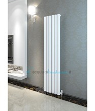 termoarredo in alluminio 1800x275 mm bianco interasse 275 mm modello ula - linea super power