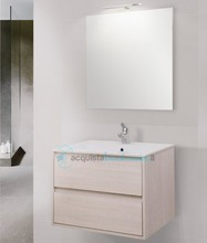 mobile bagno linea clever 70 cm - global trade - cod. clever70.u/00