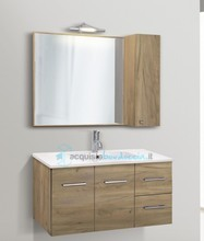 mobile bagno linea slim 91 cm - global trade - cod. slim91.4.p.res/00