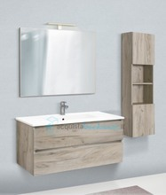 mobile bagno con colonna linea slim 81 cm - global trade - cod. slim81.u/00