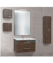 mobile bagno con colonna e pensile linea slim 71 cm - global trade - cod. slim71.h/00