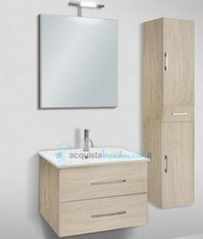 mobile bagno con colonna linea slim 71 cm - global trade - cod. slim71/00