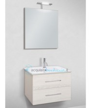 mobile bagno linea slim 61 cm - global trade - cod. slim61/00