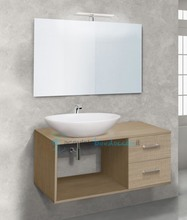 mobile bagno linea gap 100 cm - global trade - cod. gap100.2c/00