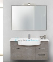 mobile bagno linea line 105 cm - global trade - cod. li105.s/00