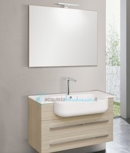 mobile bagno linea qubo 101 cm - global trade - cod. q82.s/00