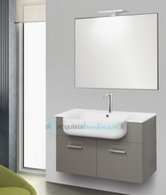 mobile bagno linea qubo 101 cm - global trade - cod. q82.s.2a/00