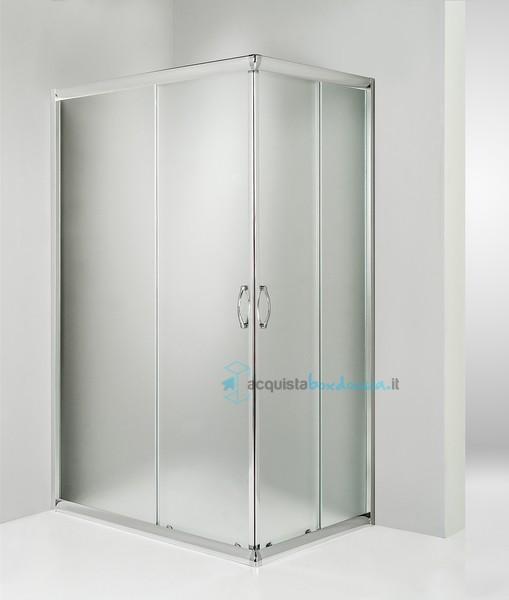 Box Doccia Cristallo Costo : Vendita box doccia angolare porta scorrevole cm