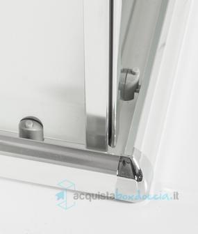 Box doccia angolare scorrevole 70x85 cm trasparente - Piatto doccia 70x85 ...