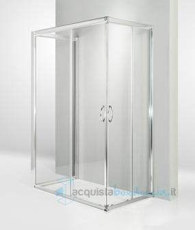 Box Doccia Scorrevole 3 Ante.Vendita Box Doccia 3 Lati Porta Scorrevole 70x100x70 Cm