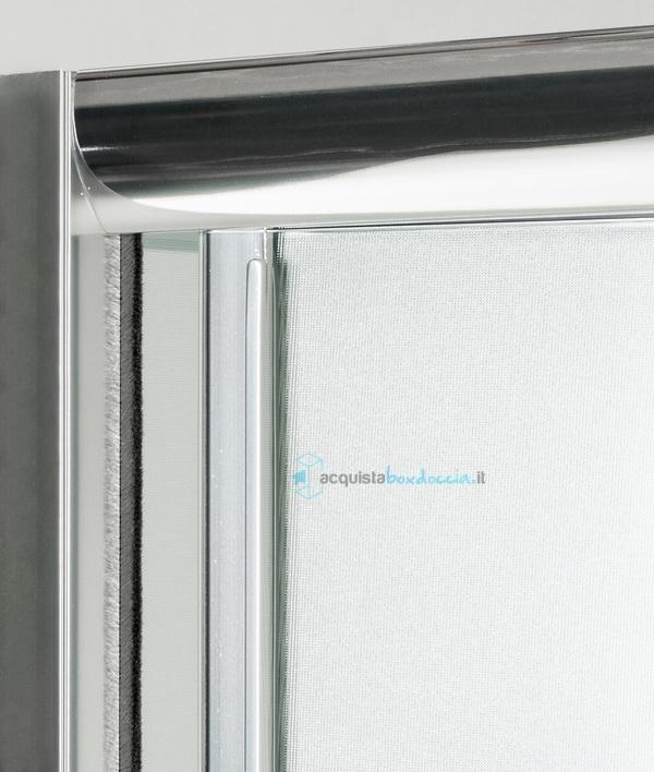 Porta doccia soffietto 90 cm opaco - Porta doccia soffietto ...