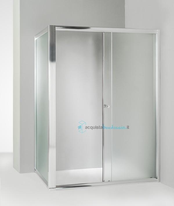 Vendita box doccia angolare anta fissa porta scorrevole for Porta finestra scorrevole 120 cm
