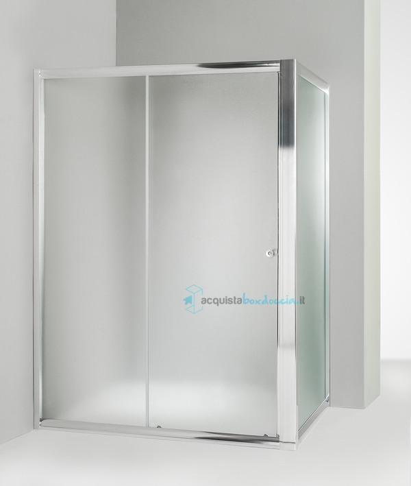 Box Doccia Cristallo Anta Fissa : Vendita box doccia angolare anta fissa porta scorrevole